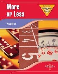 Student Edition - Mathematics in Context - Britannica
