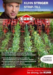 KUHN STRIGER STRIP-TILL - Bag-franken.de