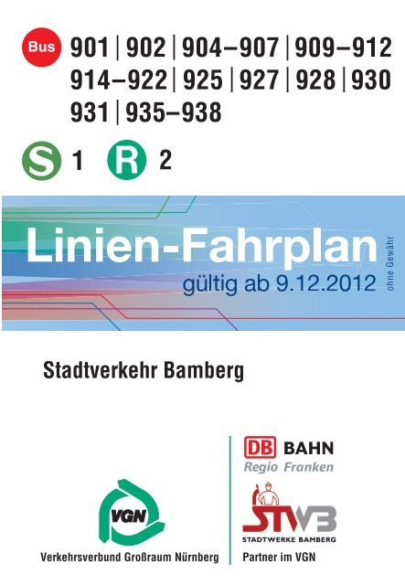 Download Fahrplanheft Stadtwerke Bamberg