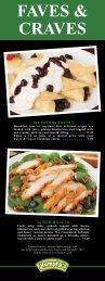 menu... - Humpty's
