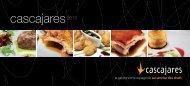 cliquez ici pour voir le catalogue de la gamme cascajares (pdf) - Cocef