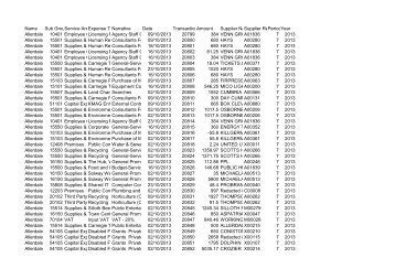 Payments October 2013 in PDF format - Allerdale Borough Council
