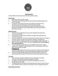 Dixie Softball Rules - City of Hanahan