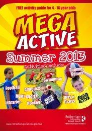 2013 Mega Active Brochure - Wickersley School & Sports College
