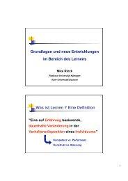 Lernen - DG-Sucht