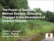 The Power of Sampling Method Designs - Midwest Invasive Plant ...