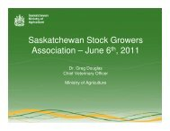 June 6th, 2011 - SK Stock Growers