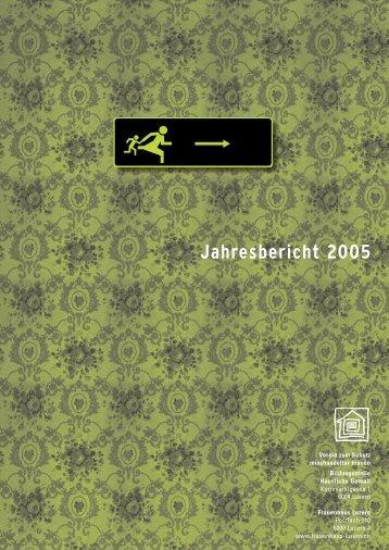 Jahresbericht 2005 - Frauenhaus Luzern
