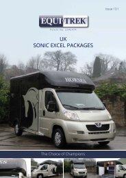UK SONIC EXCEL PACKAGES - Erik Sommer