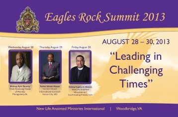 Eagles Rock Summit 2013 - New Life Anointed Ministries International