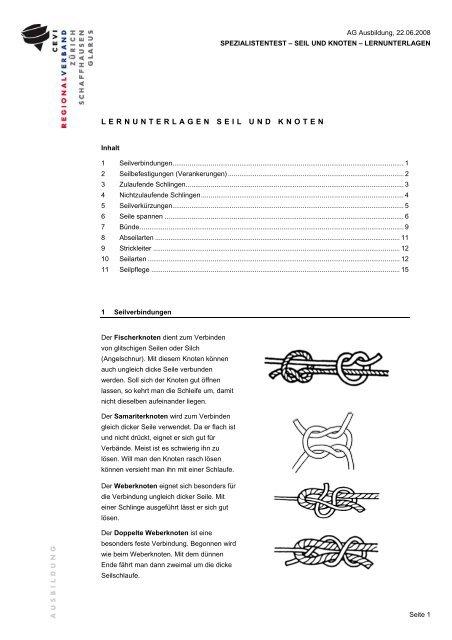 strickleiterknoten