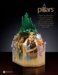 Designed to draw interest in any setting, the Pillars ... - Enesco Sales