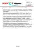 FS Online installieren (letzte Änderung: 24.1.2013 ... - MMM Software - Seite 3