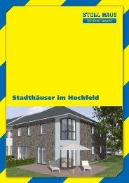 Stadthäuser im Hochfeld - Stoll Haus