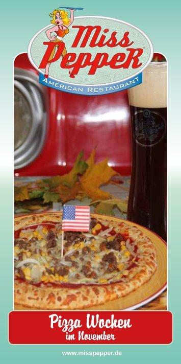 Pizza Wochen - Miss PeppeR