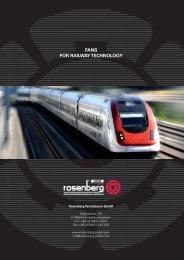 Fans for railway technology - Rosenbergitalia.it