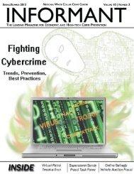 Informant Vol 10 No 2 - 2013 Spring - National White Collar Crime ...