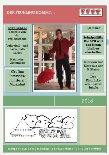 Schülerzeitung - Oberschule Steinkirchen