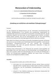 Gestaltung von schriftlichen und mündlichen Prüfungsleistungen