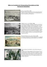 Bilder zur Geschichte der Felseneremitage Bretzenheim a