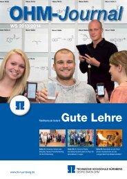 WS 2013|2014 - Georg-Simon-Ohm-Hochschule Nürnberg