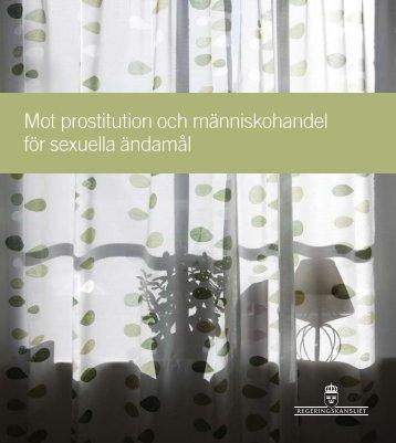 Mot prostitution och människohandel för sexuella ... - Regeringen