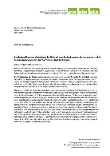 Bundesbeschluss über die Freigabe der Mittel ab 2015 für das ...