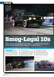smog-legal 10s - RAM Clutches
