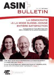 Bulletin d'information avril 2012 (n°150) - ASIN