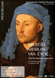Bruegel, Memling, van Eyck - Culturespaces
