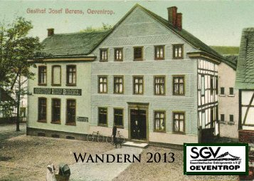 Wandern 2013 - SGV Oeventrop