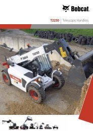 T2250 Telescopic Specifications - Bobcat.eu