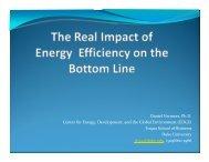 Real impact of energy efficiency - ABB
