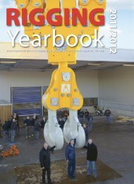 The independent guide to rigging, from the ... - Rigging Yearbook