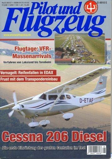 Pilot und Flugzeug - Tannkosh