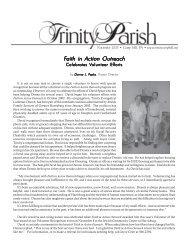 Faith in Action Outreach aith in Action Outreach - Trinity Evangelical ...
