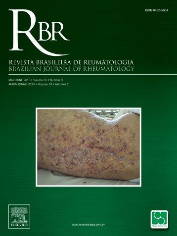 RBR 53(3) - Sociedade Brasileira de Reumatologia