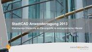 Kleinräumige Gliederung als Planungshilfe im ... - StadtCAD