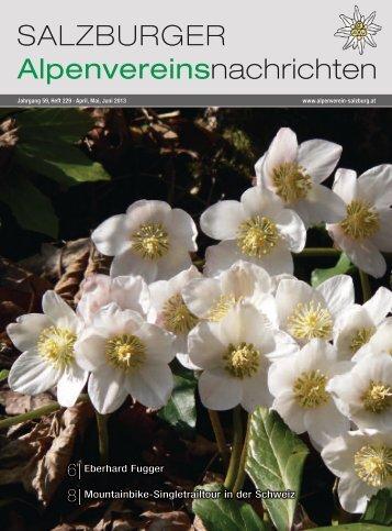 229 April-Mai-Juni 2013 - Alpenverein Salzburg