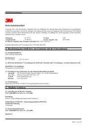 Sicherheitsdatenblatt 1. Bezeichnung des Stoffs bzw. des ... - Elfa