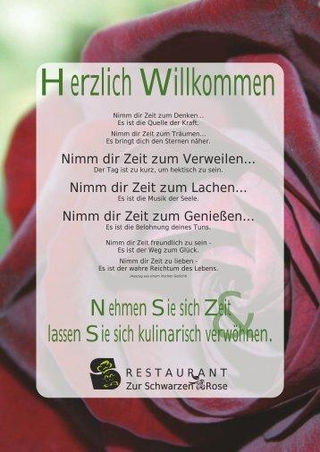 Nehmen Sie sich Zeit lassen Sie sich kulinarisch ... - Restaurant