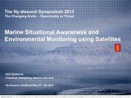 Marine Situational Awareness and Environmental ... - Cicero