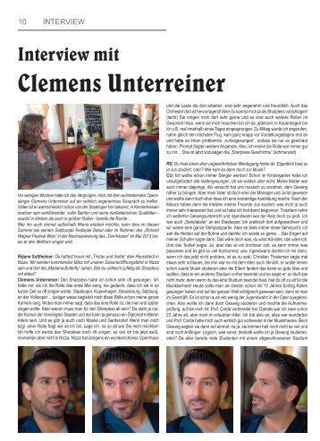 Clemens Unterreiner - Unterreiner, Clemens