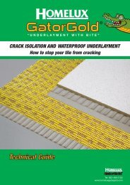 Gatorgold Technical Data Booklet