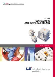 CONTACTORS AND OVERLOAD RELAYS - PDC Group