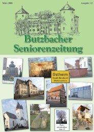 Seniorenzeitung 12 2008.indd - Seniorenbeirat Butzbach
