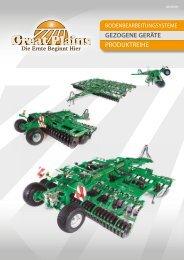 GEZOGENE GERÄTE PRODUKTREIHE - Great Plains Manufacturing