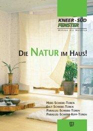 Die Natur im Haus! | HST / FST / PSK - Kneer GmbH