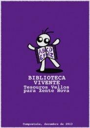 Descargar o catálogo de Libros Viventes - Xandobela