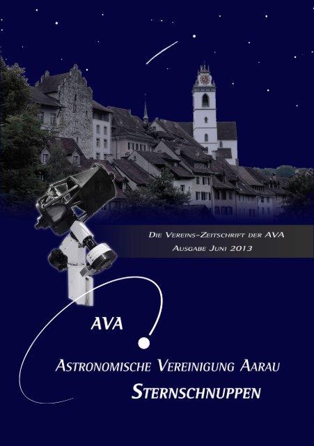 Sternschuppen-Ausgabe Juni 2013 - Astronomische Vereinigung ...